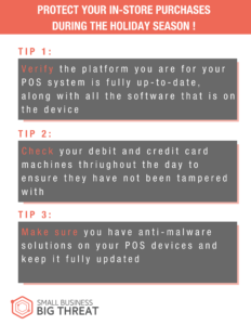 Protect Your In-Store Purchases during the Holiday Season